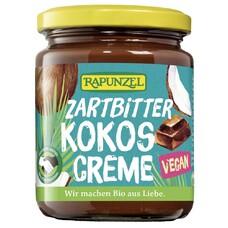 Crema de ciocolata amaruie cu cocos bio