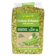 Mazare verde bio jumătăţi cojite