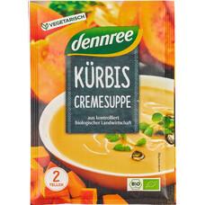 Supa crema de dovleac bio, la plic