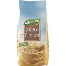 Fulgi bio din 6 cereale